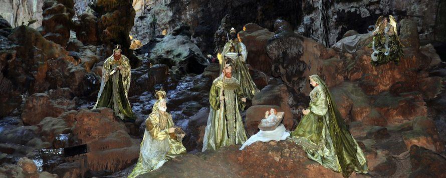 presepi in grotta