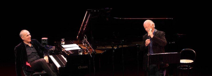 Gino Paoli e Danilo Rea in concerto nelle Grotte di Castellana