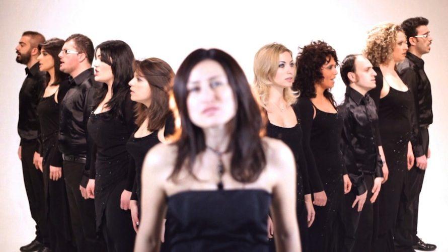 Wanted Chorus in concerto nelle Grotte di Castellana
