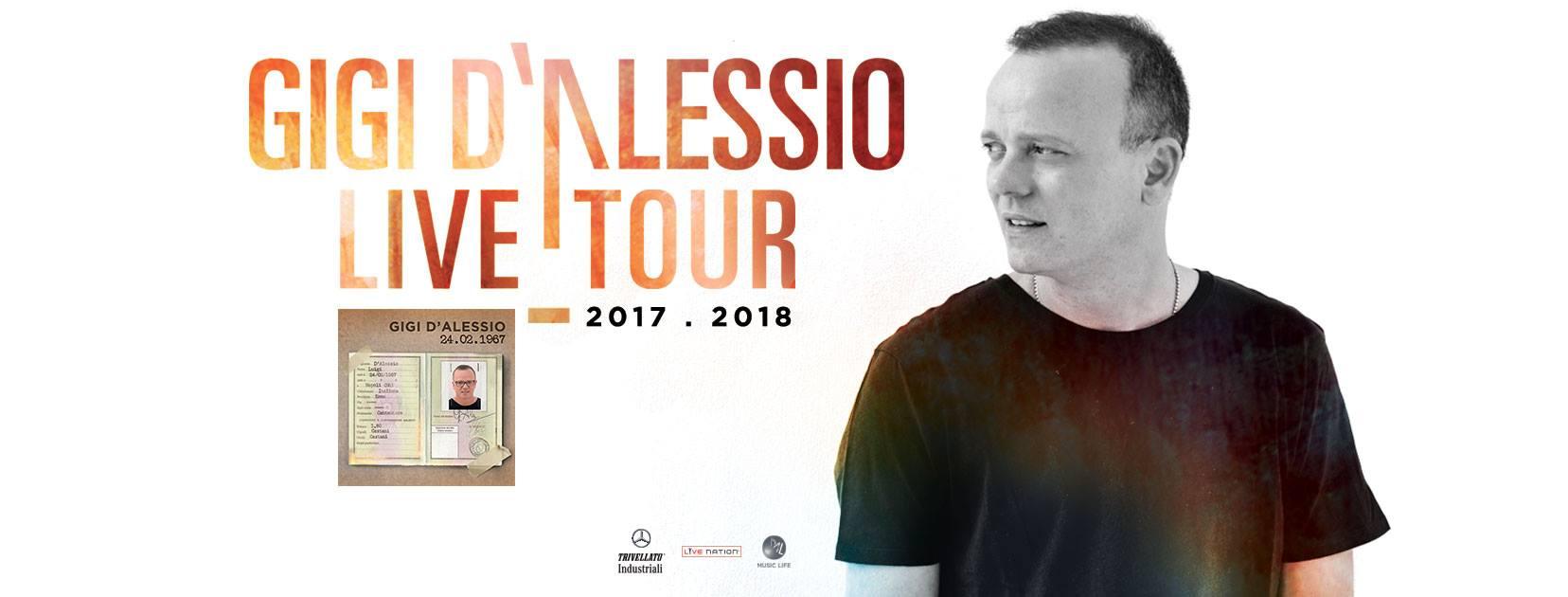 Gigi D'Alessio alle Grotte di Castellana