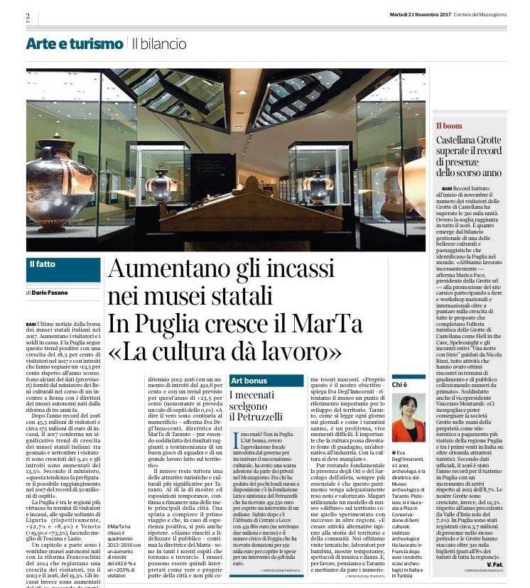 Corriere del Mezzogiorno - 21.11.2017 (ok)
